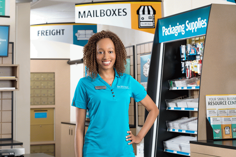 Young The UPS Store Female Franchisee