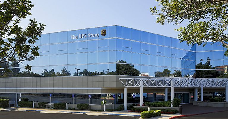 The UPS Store University corporate campus in San Diego