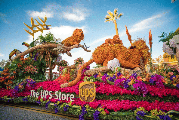 The UPS Store Tournament of Roses Parade Float